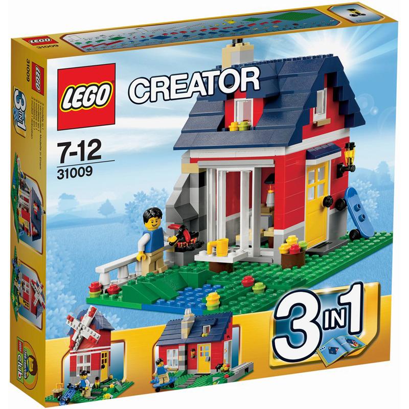 LEGO Creator 31009 - Xep hinh can nha ngoai o