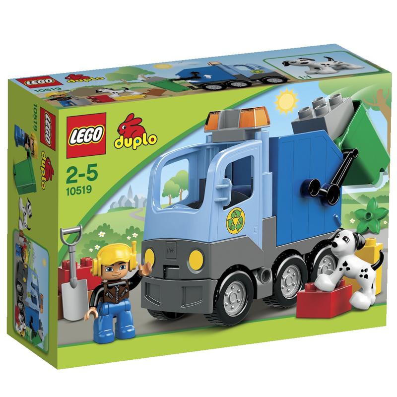 LEGO Duplo 10519 - Do choi xep hinh xe cho rac