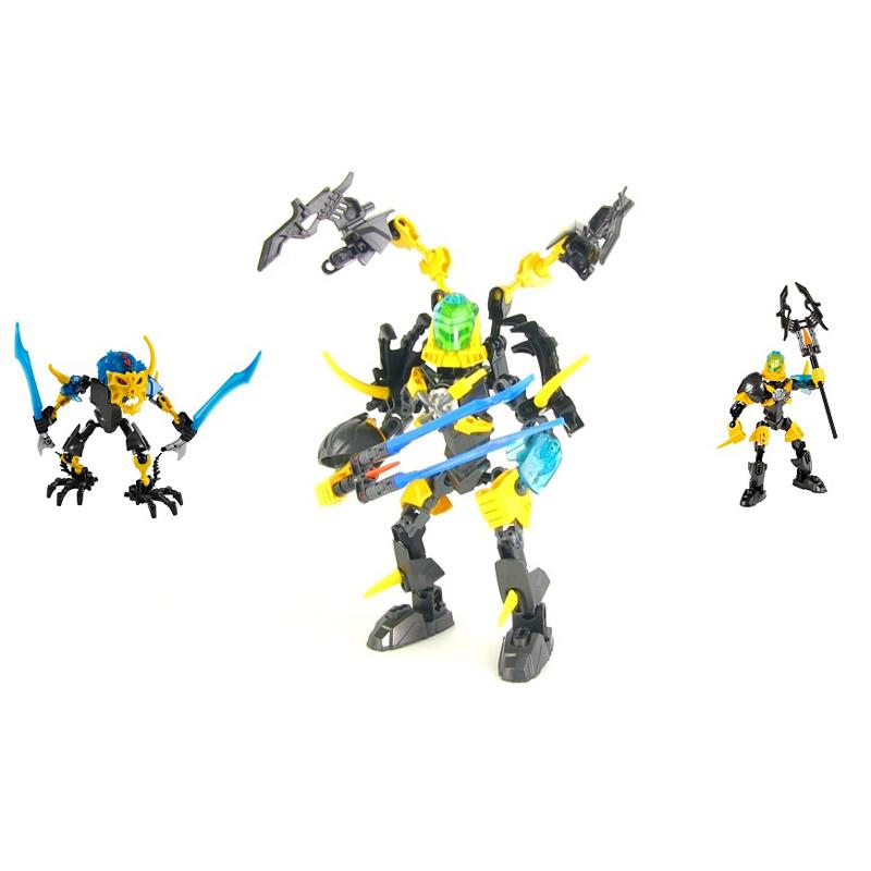 Combo Lego 44012 Hero Factory + 44013 Hero Factory