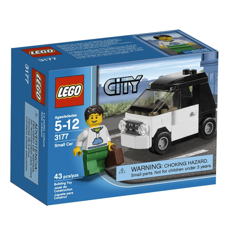 LEGO 3177 City - Xep hinh xe hoi nho