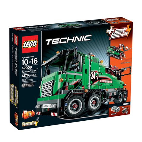 LEGO 42008 - Do choi xep hinh xe Tai chuyen dung