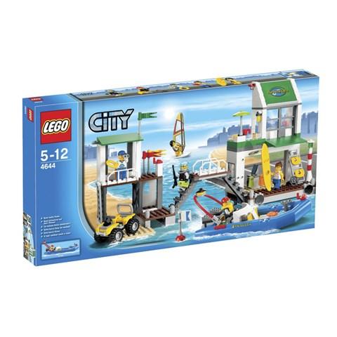 LEGO 4644 City - Xep hinh ben du thuyen