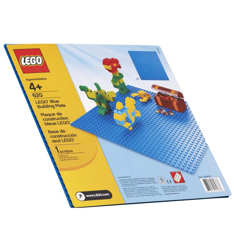 LEGO 620 - Nen xay dung xanh duong