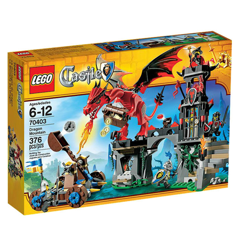 LEGO 70403 Castle - Xep hinh cuoc chien ngon nui rong