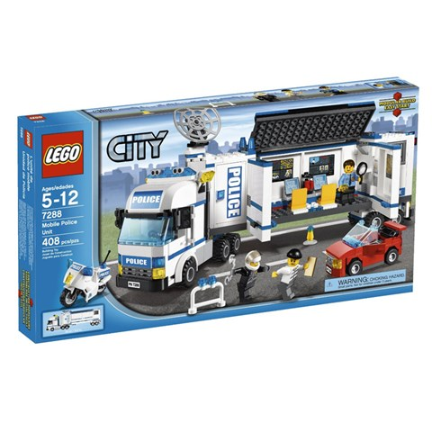 LEGO 7288 City - Xep hinh Tram thong tin di dong
