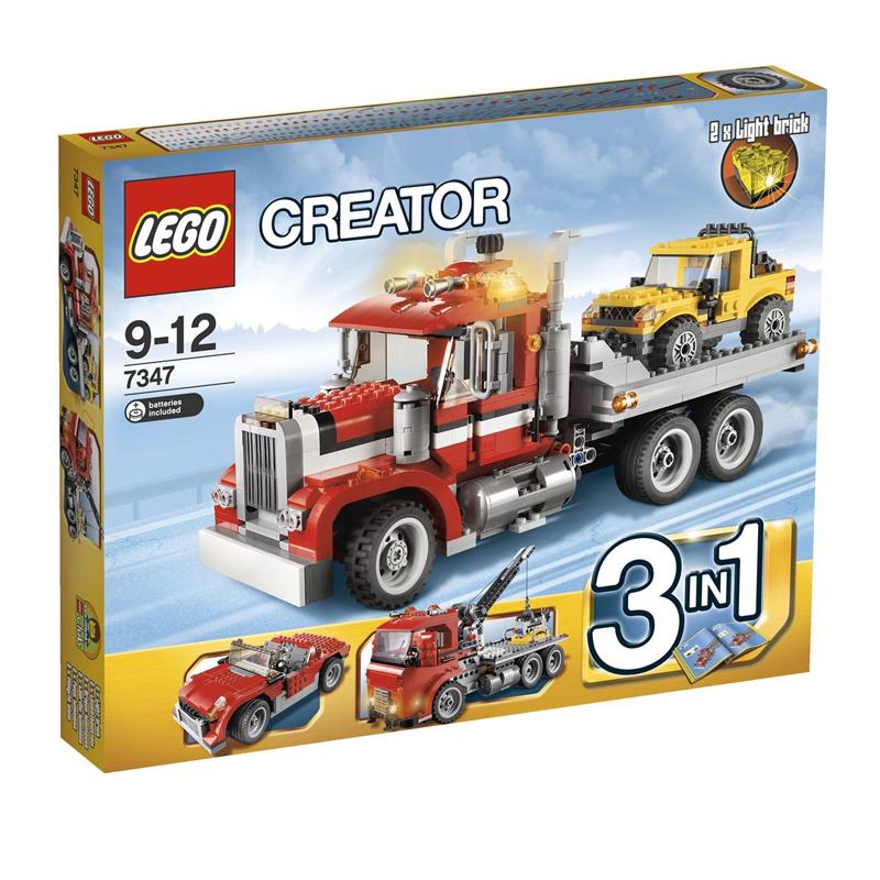 LEGO 7347 - Do choi xep hinh xe tai container