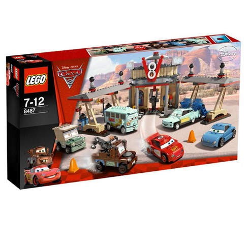 LEGO 8487 Racers - Ca phe V8 cua Flo