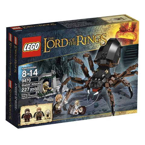 LEGO 9470 - Do choi xep hinh nhen khong lo Shelob