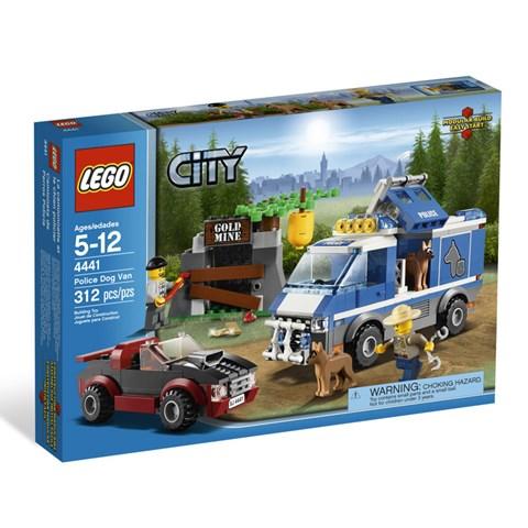 Do choi LEGO City 4441 - Xe chuyen cho cho nghiep vu