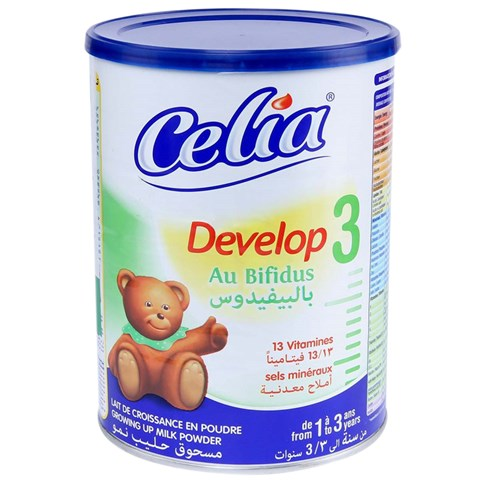 Sua bot cho be Celia Develop so 3 loai 900g
