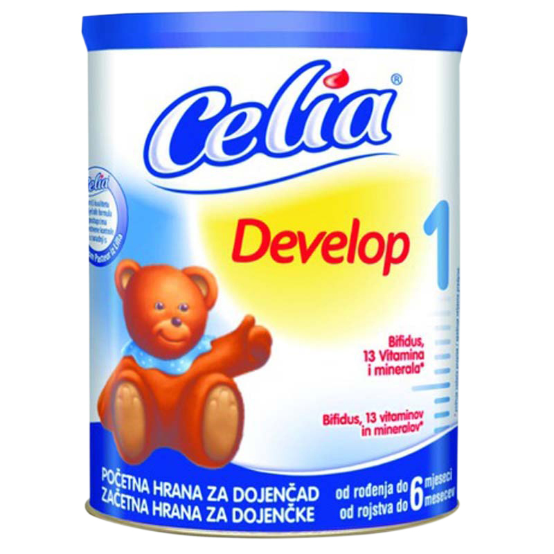 Sua bot cho be Celia Develop so 1 (900g)