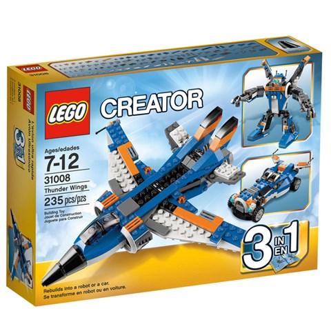 Do choi LEGO 31008 - Xep hinh may bay sam chop