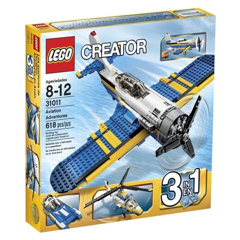 Do choi LEGO 31011 - Xep hinh may bay (co gan dong co)