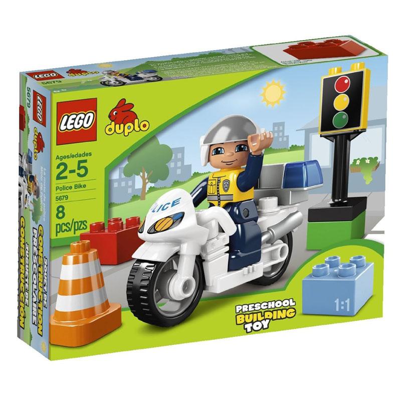 Do choi  LEGO 5679 xep hinh xe canh sat Police Bike V29