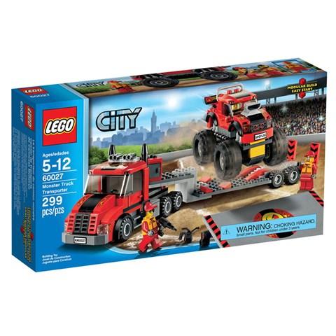 Do choi LEGO 60027 - Xep hinh Xe Tai Van Chuyen Quai Vat