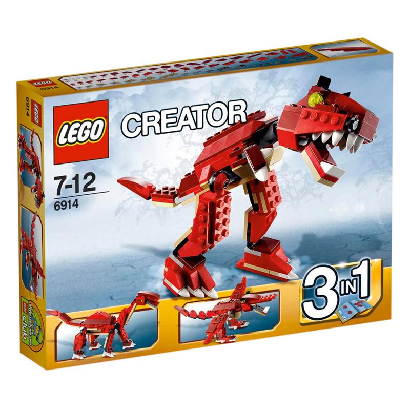 Do choi LEGO 6914 xep hinh Prehistoric Hunters 6914