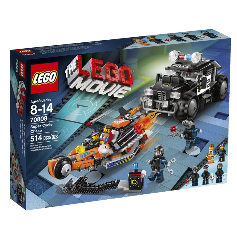 Do choi Lego 70808 - Sieu xe than toc