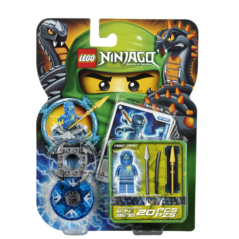 Do choi Lego 9570 - NRG Jay V30