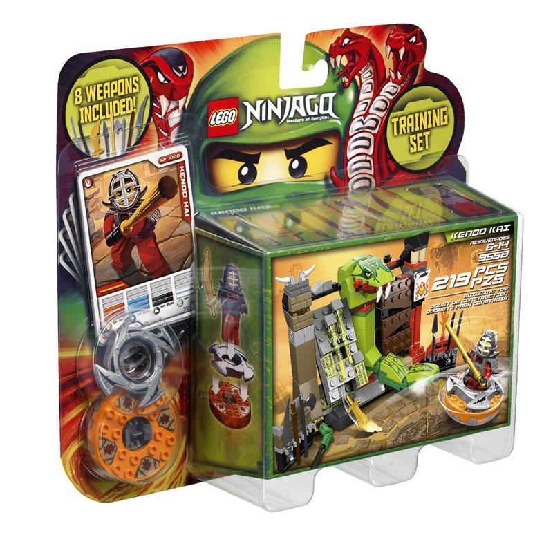 Do choi Lego Ninjago 9558 - Bo luyen tap loc xoay