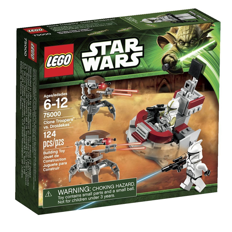 LEGO Star Wars 75000 Clone Troopers vs Droidekas