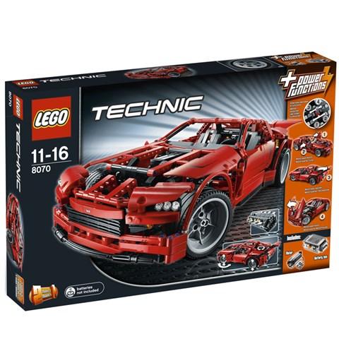Do choi lego Technic 8070 - Sieu Xe The Thao