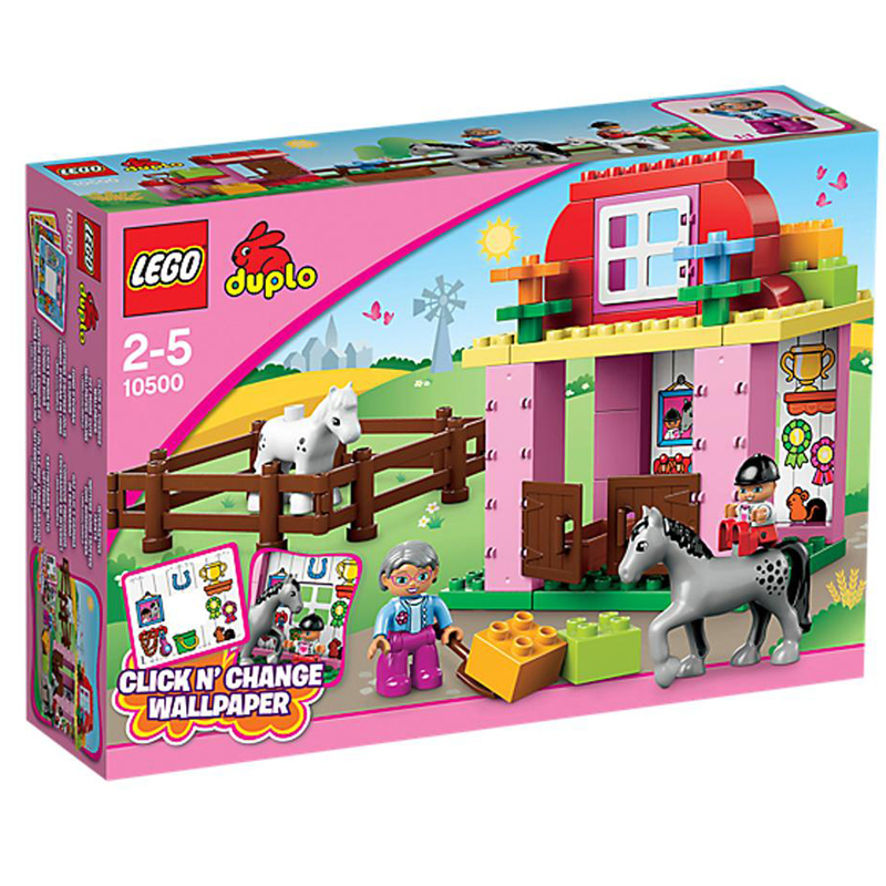 LEGO 10500 xep hinh Duplo Stadnina