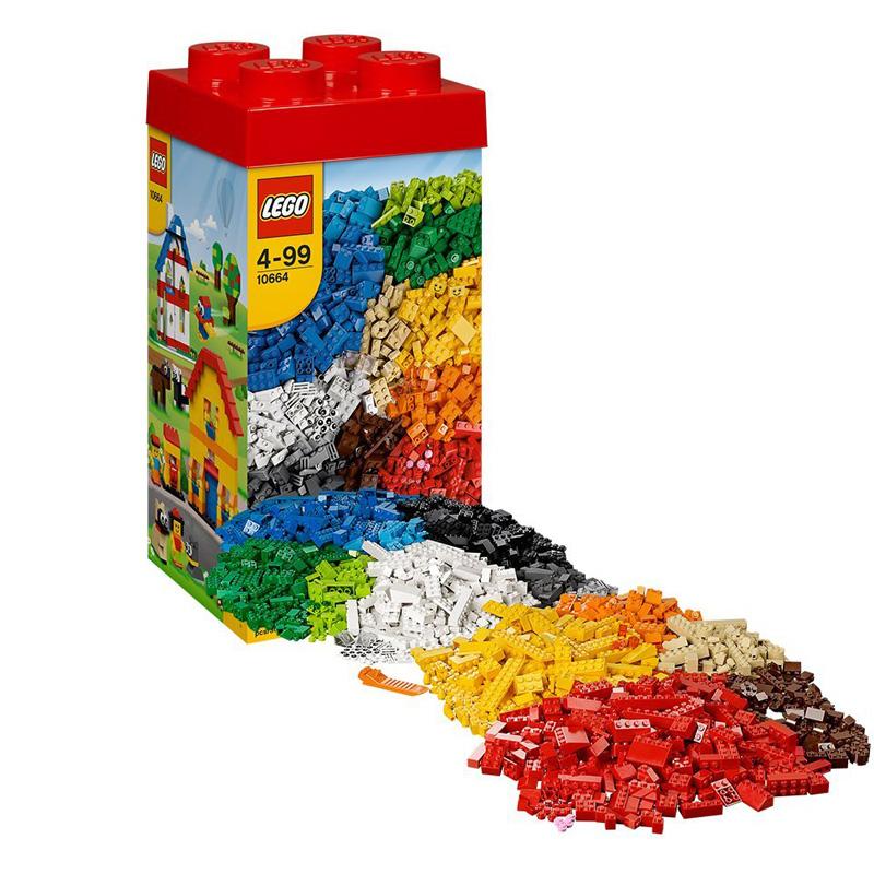 LEGO 10664 thap gach sang tao