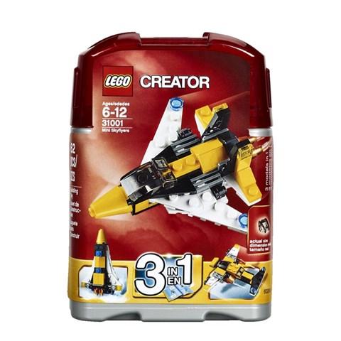 LEGO 31001 xep hinh May Bay Mini-Mini Skyflyers Set