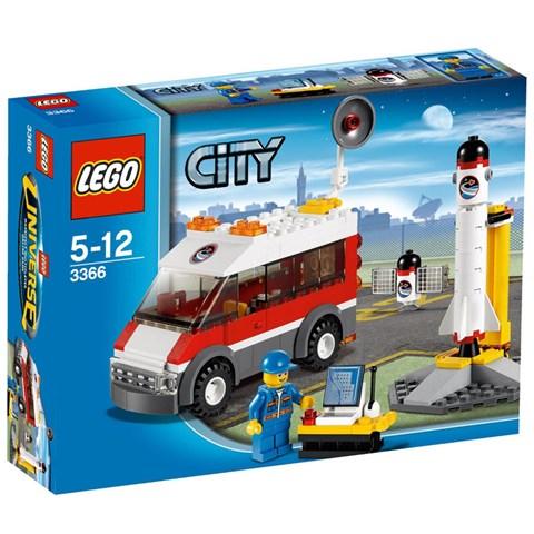 LEGO 3366 City - Xep hinh he thong dieu khien ve tinh