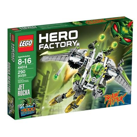 LEGO 44014 Hero Factory - Xep hinh may bay phan luc ROCKA