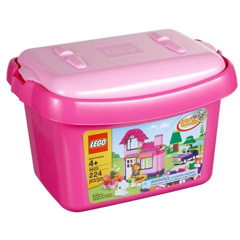 LEGO 4625 - Do choi xep hinh thung gach hong