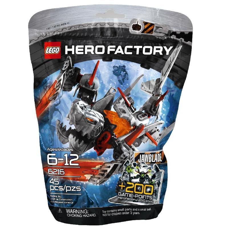 LEGO 6216 Hero Factory - Bo xep hinh Jawblade V29