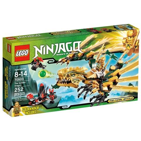 Lego 70503 - Bo xep hinh Ninjago rong vang