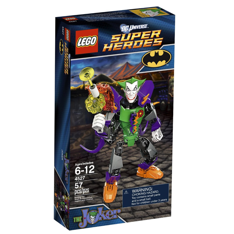 Do choi lego 4527 xep hinh Super Heroes The Joker
