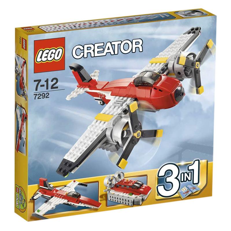 Do choi LEGO 7292- xep hinh 3 trong 1 Propeller Adventures