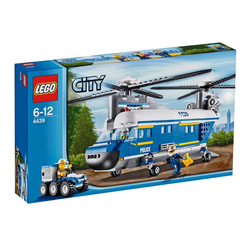 Do choi LEGO City 4439 - Truc thang hang nang
