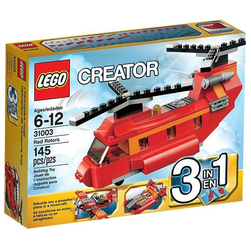 Do choi LEGO Creator 31003 - May bay truc thang do