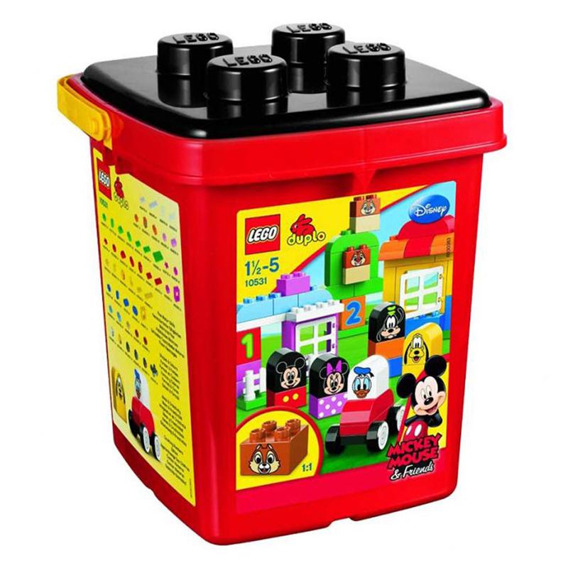 Lego Duplo 10531 - Bo xep hinh thung gach sang tao cho be