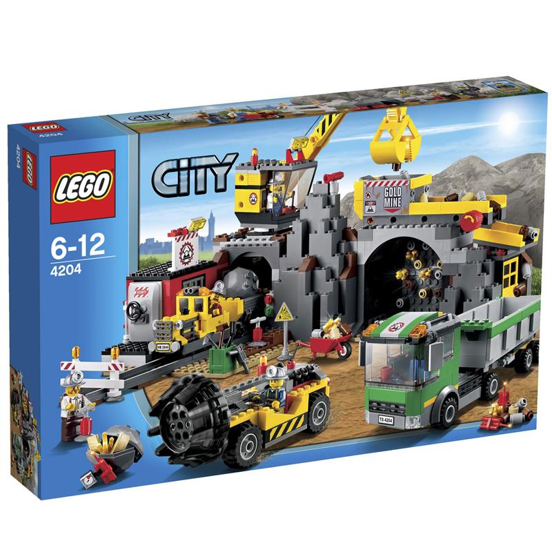 LEGO 4204 City - Khu mo vang