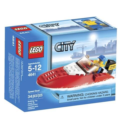 LEGO 4641 City - Xep hinh Cano sieu toc
