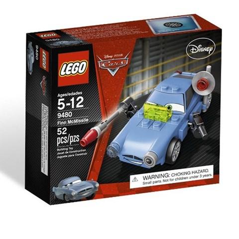 LEGO 9480 Racers - Bo xep hinh xe diep vien Finn McMissile