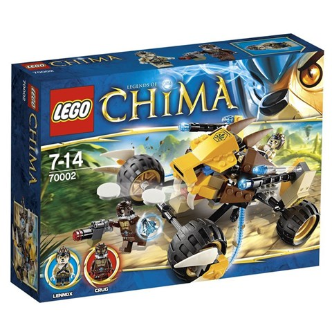 LEGO Chima 70002 - Xep hinh su tu tan cong