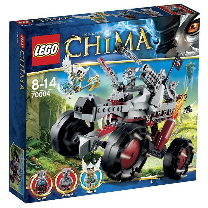 LEGO Chima 70004 - Xe dia hinh soi xam