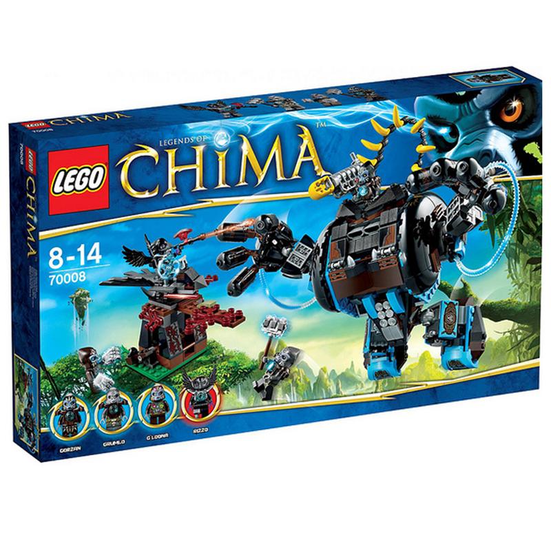 LEGO chima 70008 - Ro Bot Chien Dau Cua Gorzan