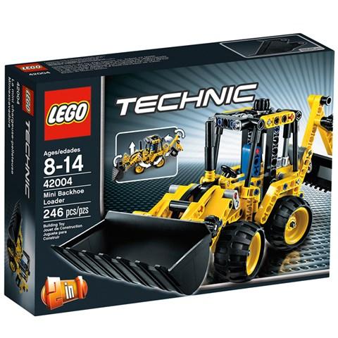 LEGO Technic 42004 - Xep hinh Mini xuc ui
