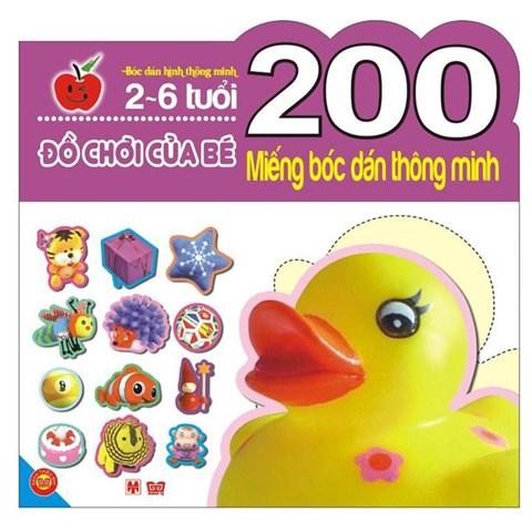 200 mieng boc dan thong minh - do choi cua be