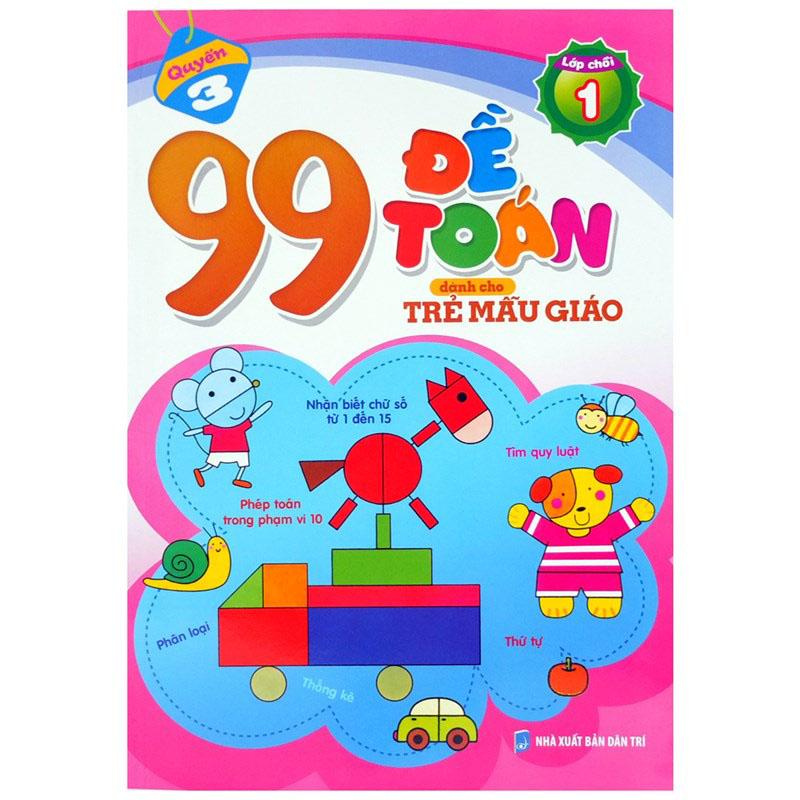 99 de toan danh cho tre mau giao (lop choi 1)