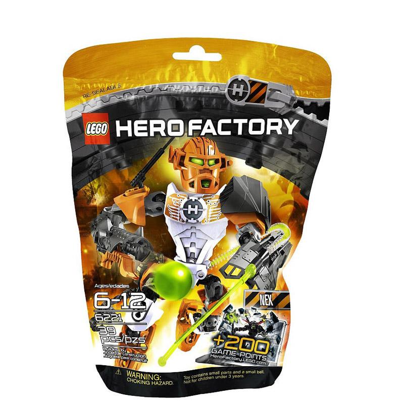 LEGO 6221 Hero Factory - Bo xep hinh anh hung Julius Nex