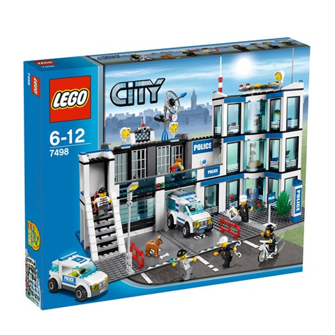 LEGO 7498 City - Xep hinh don canh sat