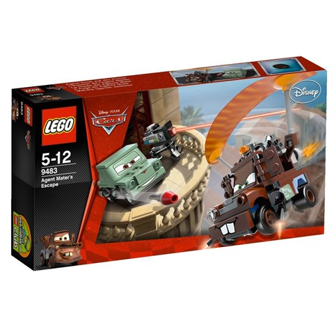LEGO 9483 Racers - Bo xep hinh cuoc tau thoat cua diep vu Mater